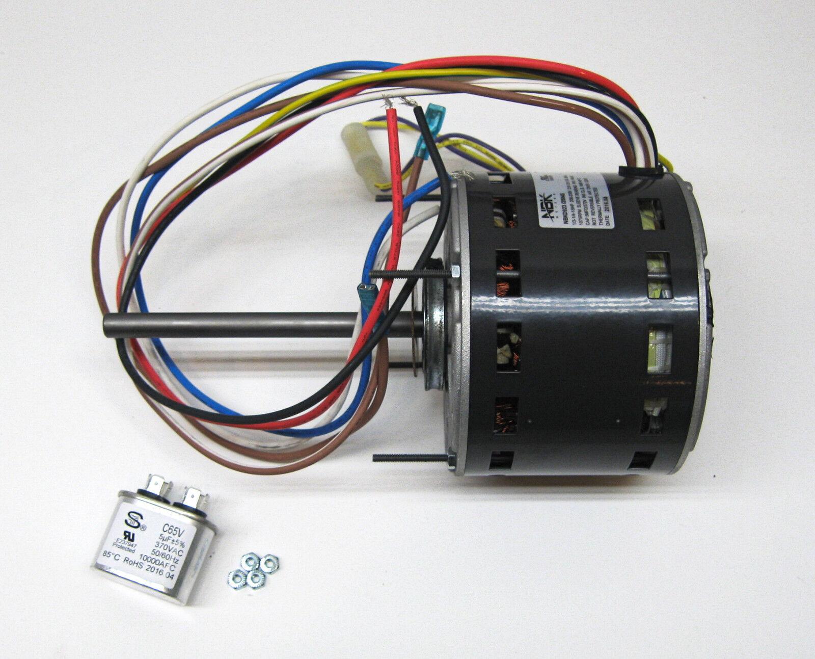 hight resolution of furnace air handler blower motor 1 3 hp 1075 rpm 230 volt 3 speed rh ebay mars 10589 wiring diagram