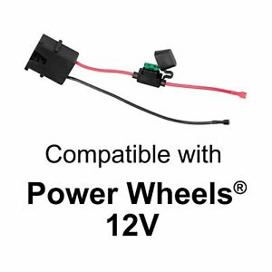 Wire Harness Connector for Fisher-Price Power Wheels 12