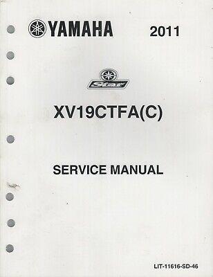 2011 YAMAHA MOTORCYCLE STAR, XV19CTFA(C) SERVICE MANUAL