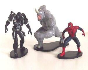 Disney Store Spider Man Figurine Cake Topper Toy Marvel Spiderman