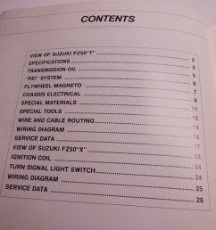 1980 suzuki fz50 supplementary service manual 99000 85057 0e3 fz 50 80 ebay [ 1024 x 768 Pixel ]