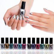 chrome metallic nail polish magic