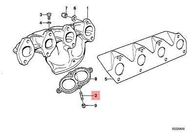 Genuine BMW Exhaust Manifold Stud To Catalytic Converter