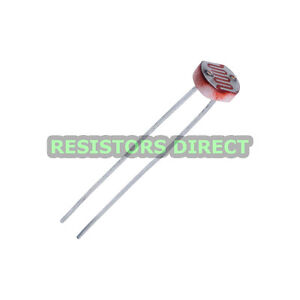 10pcs LDR Photoresistor CDS Light Dependent Sensor