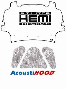2009 2012 Dodge Ram Truck 1500 Under Hood Cover with M-57L