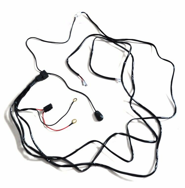 Led Light Universal Relay Harness Wire Kit Switch Control