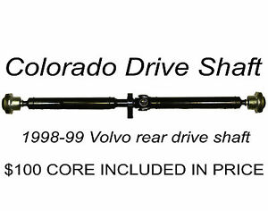 Volvo V70XC or Volvo AWD rear drive shaft propshaft oem