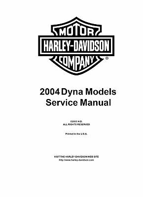 Harley Davidson Dyna 2004 service & electrical diagnostic