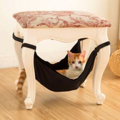 Under Chair Cat Hammock Electric Barber Shop Pets Dog Puppy Ferret Hanging Beds Chairs Table Image Is Loading