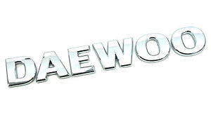Genuine New DAEWOO BOOT BADGE Logo for Various Inc