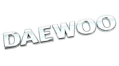 ORIGINALE NUOVO DAEWOO avvio Badge Logo per vari Inc