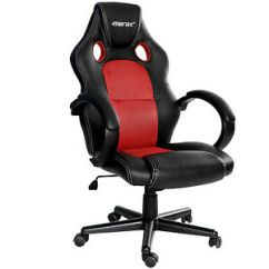 Mesh Gaming Chair Fabric Folding Chairs Sale Merax Racing High Back Pu Leather Ergonomic Image Is Loading
