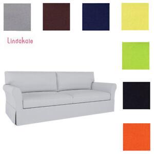 pottery barn sleeper sofa ebay blue sofas living room custom made cover fits pb comfort roll image is loading