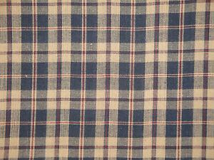 Plaid Fabric Cotton Rag Quilt Fabric Home Decor Fabric
