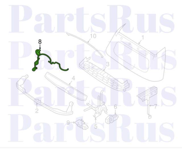 Genuine Smart Fortwo Electrical Wiring Harness 4535400005