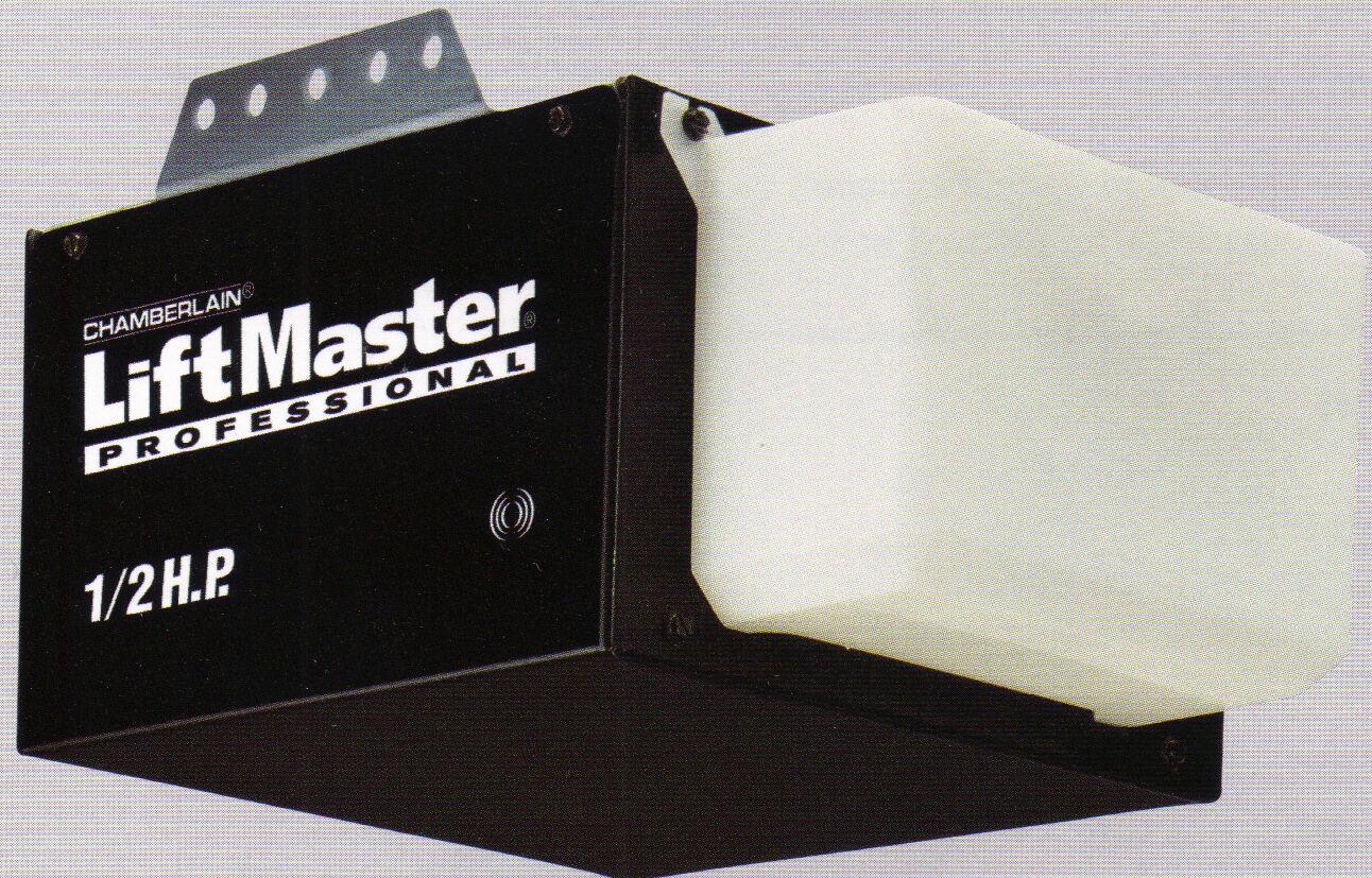 liftmaster garage door opener 7 way navigation 1355 8065 1 2 hp chain drive