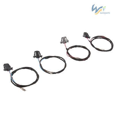 4Pcs Door light Harness Cable Set For Jetta 06-11 GOLF CC