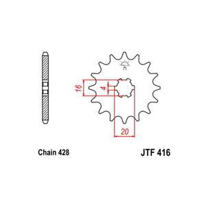 MS-CA 38 Beef 64 Pinion s+2 AC p428-d14 79/82 ts er 100
