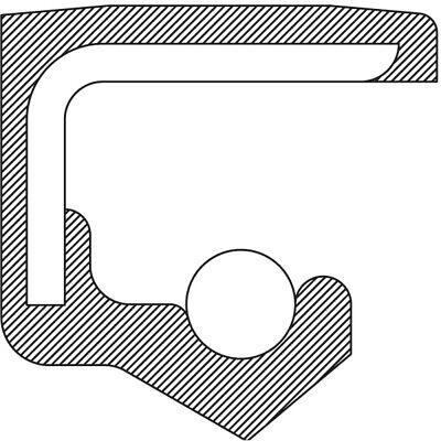 Manual Trans Shift Shaft Seal-Std Trans, M6CF3-1, 6 Speed