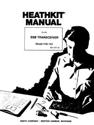 Heathkit HW-101 SSB Transceiver Assembly & Operation 245