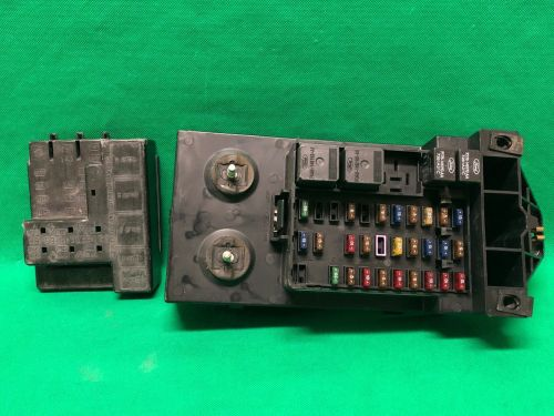 small resolution of 1998 98 ford f250 f150 truck interior fuse box relay fusebox f85b 14a067 aa for sale online