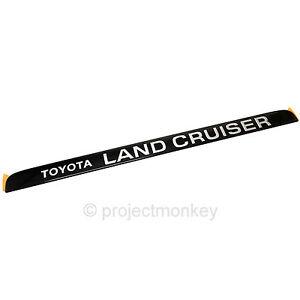 OEM Toyota 91-97 Land Cruiser FJ80 FZJ80 Rear Hatch
