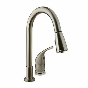 rv kitchen faucets design dayton ohio dura faucet pull down with side lever for image is loading