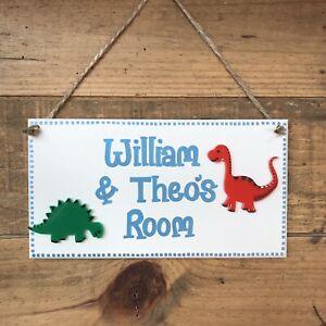 details about personalised childrens bedroom door sign door plaque boys bedroom name plate