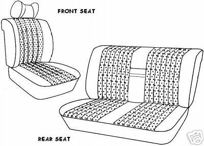W114/W115 MERCEDES FRONT SEAT COVERS 240D 250C 250CE 280CE