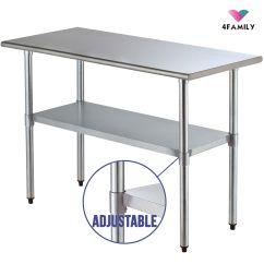 Kitchen Food Preparation Table Home Depot Backsplash 24 Quot X 48 Commercial Stainless Steel Work Prep