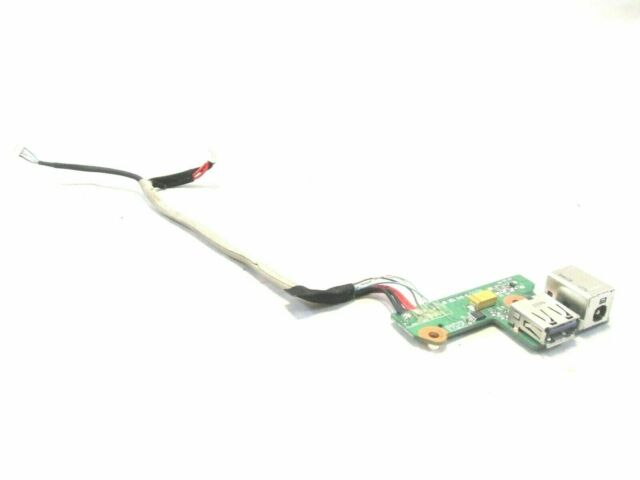 HP PAVILION DV6700 USB DC POWER JACK BOARD W/CABLE