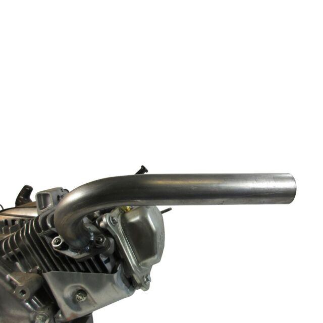 1 go kart exhaust w screw on muffler for predator 212cc hemi non hemi stage 1