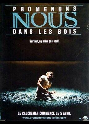 Promenons-nous Dans Les Bois (film) : promenons-nous, (film), Affiche, PROMENONS, 40x60