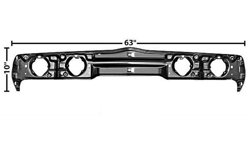 1979-1981 Firebird Trans Am Headlamp Headlight Light