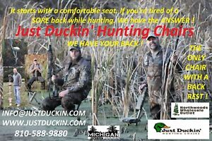 duck hunting chair desk green 12 just duckin marsh seat image is loading 034