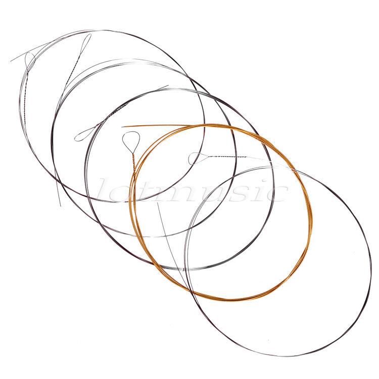4 Set Light Stainless Steel Loop Ends 5 String Banjo