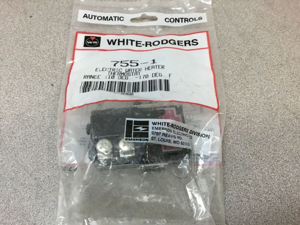 medium resolution of white rodgers 755 1 electric water heater thermostat for sale online ebay