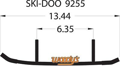 WOODYS SKI-DOO WEAR BARS RODS RUNNERS LEGEND GT SE MACH Z