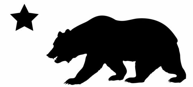 Download This Is a California Bear Silhouette Sticker or Decal ...