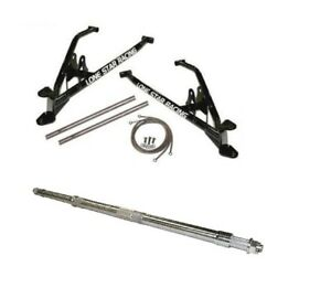 LONESTAR RACING LSR +3 A-ARMS + EXTENDED REAR AXLE POLARIS