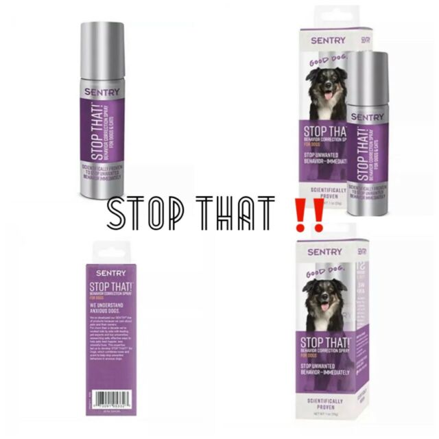 ?Sentry Stop That! Behavior Correction Spray for Dogs {Brand New}?   eBay