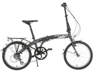 Carrera Intercity Unisex Adults Men Women Folding Bike
