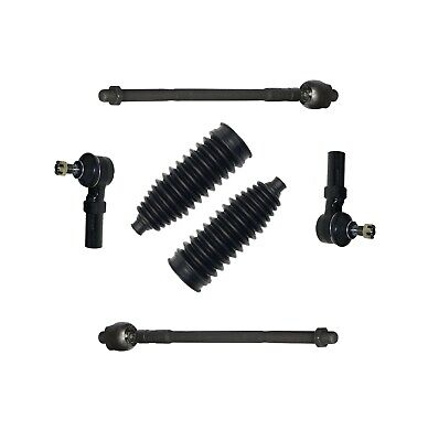Set 6 Pc Inner & Outer Tie Rods Boots for Nissan Altima