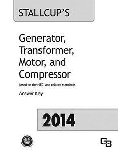 2014 Stallcup's Generator, Transformer, Motor