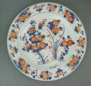 18th Century Kangxi Chinese Imari Export 14 Inch Charger 2 of 2