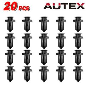 20pcs Bumper Cover Trim Clips Retainer Fastener for