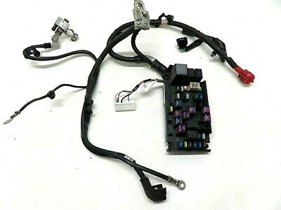 2015-2019 Subaru WRX Engine Bay Fuse Box Panel Starter