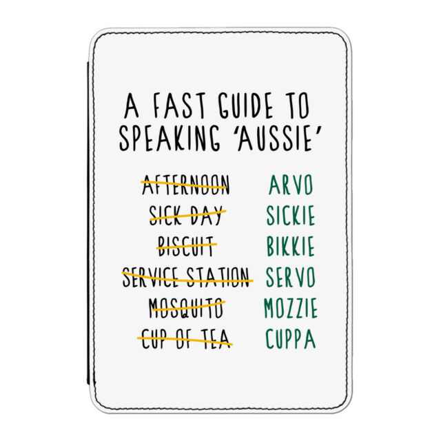 A Fast Guide To Speaking Aussie Case Cover for Kindle