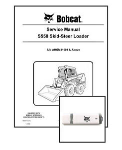 Bobcat S550 Workshop Repair Service Manual 6990677 USB