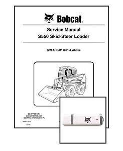 Bobcat S550 Workshop Repair Service Manual 6990677 USB